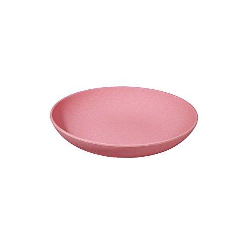 (Lollipop Pink) - Zuperzozial assiettes creuse calotte/bol/assiette creuse pour pates bIO lollipop pink