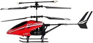 طائرة هليكوبتر HX713، 2.5-قناة بنطاق ثلاثي، مزودة بوحدة تحكم عن بعد بالاشعة تحت الحمراء (لون احمر)، من في-ماكس
