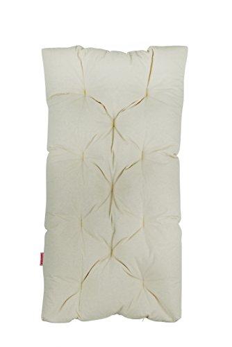 Merrymama - Matelas de lit rembourré en Boule de Fer Bio, 120 x 60 cm