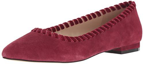 Athena Alexander Women's Lemans Sneaker, Wine Suede, 7.5 M US