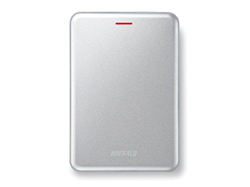 Buffalo MiniStation Velocity SSD SSD-PUS480U3S-EU (schnelle externe SSD 480GB, USB 3.1) silber