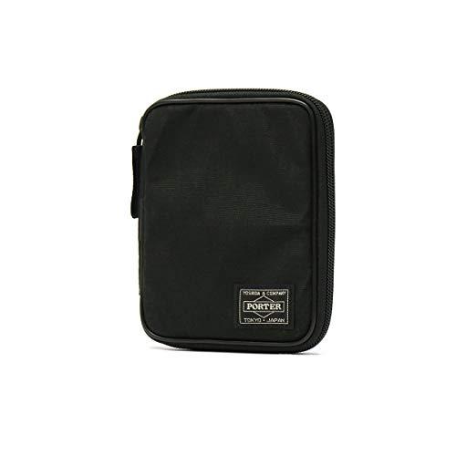 (ポーター) PORTER パスポートケース [HYBRID/ハイブリッド] ブラック