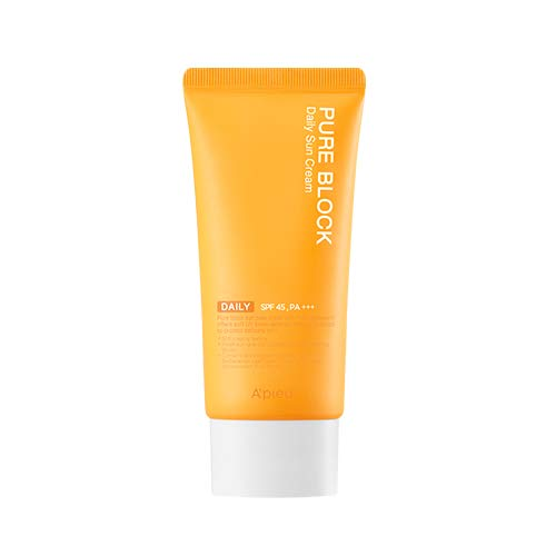 A'PIEU PURE BLOCK Natural Daily Sun Cream SPF45/PA+++