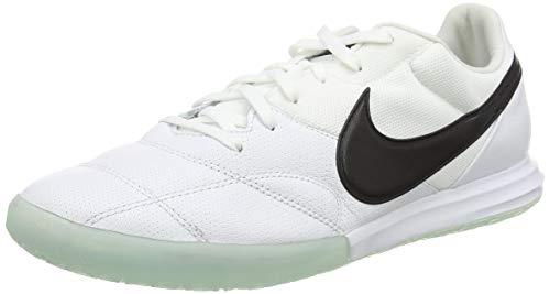Nike Premier II Sala (IC), Zapatillas de ftbol Unisex Adulto, Blanco y Negro, 38.5 EU