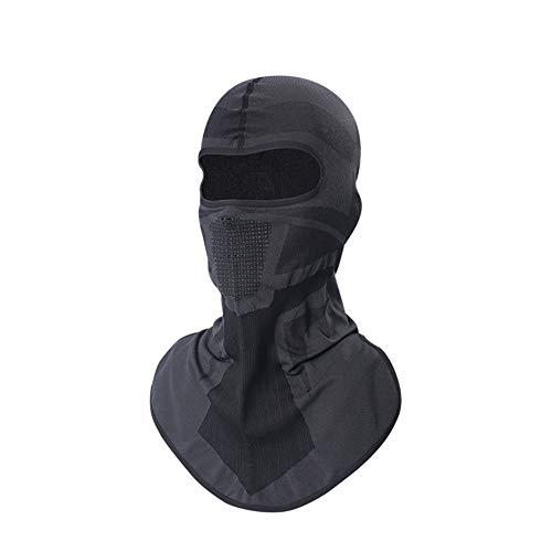 Masker Zonnebrandcrème Motorkap Mannelijke Ademende Hooded Rijhelm Voering Beschermende Full Face Masker