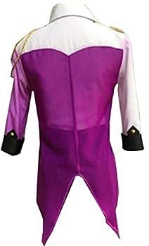 Poetic Walk Hot Yuri on Ice Cosplay Victor Nikiforov Costume Performance Jacket  Medium 03Purple
