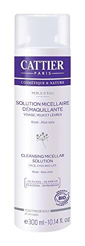 Cattier Solución micelar desmaquilladora Perle d'Eau - 300 ml