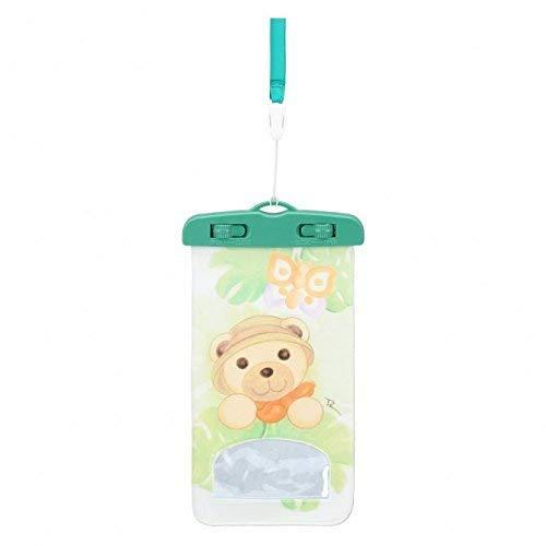 THUN ® - Cover per Smartphone Waterproof - Linea Tropical - 21 x 11,5 x 1 cm