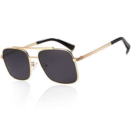 TSEBAN Metall Polarisierte Sonnenbrille für Herren UV400 Schutz CAT 3