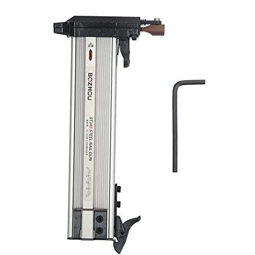 Clavadora manual, herramienta de clavado ligera para carpintería de aleación de aluminio, duradera para muebles para clavos ST