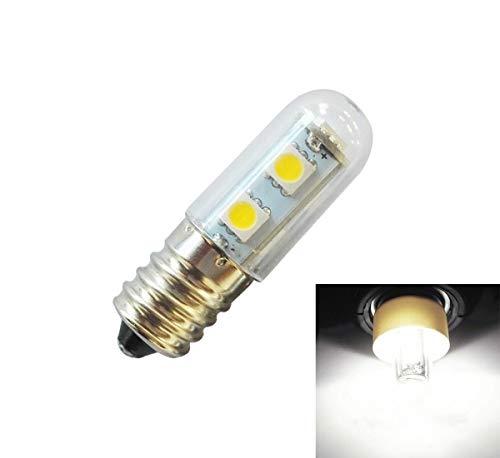 ILS - E14 schroefschroef LED-lamp koelkast 1W 220V AC 7 licht SMD 5050 ampère LED koelkastverlichting thuis (koud wit)