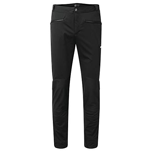 Dare 2b Herren Appended II Ilus Hybrid with D-Lab Softshell Front and Core Stretch to The Back Trouser Hose, Schwarz, 86,4 cm (34 Zoll)