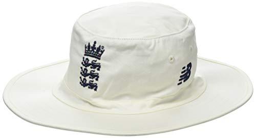 New Balance England Cricket Offizieller runder Hut für Herren X-Small/Small Angora