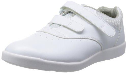 [ミドリ安全] 作業靴 耐滑 軽量 マジックタイプ スニーカー H815 メンズ ホワイト 22.0(22cm)