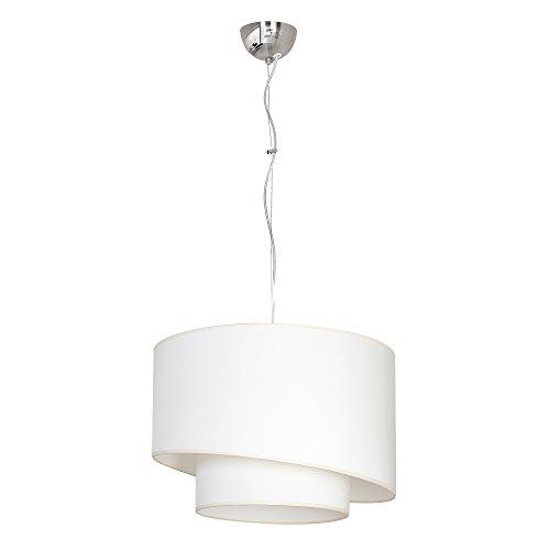 Shade double cream Lampada a sospensione Luci di soffitto Lampadario da soffitto