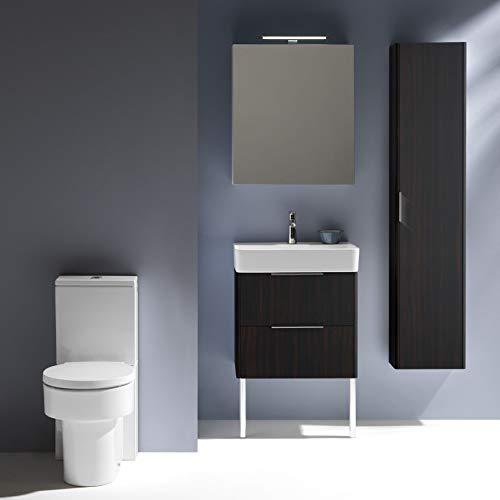 Laufen VAL vrijstaande WC voor stortbak, vaatwasser, randloos, 390x660, wit, Kleur: Wit - H8242810000001