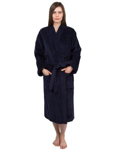 TowelSelections Women's Robe Turkish Cotton Terry Velour Bathrobe...