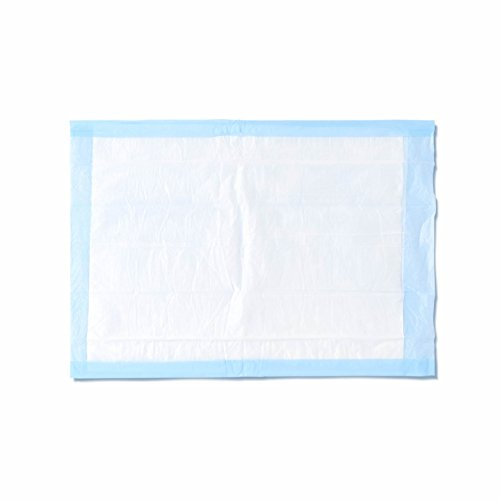 Medline - MSC281230 Light Absorbency 17? x 24? Fluff Disposable Underpad, Great For Changing Table and Surfaces, 300 Per Case