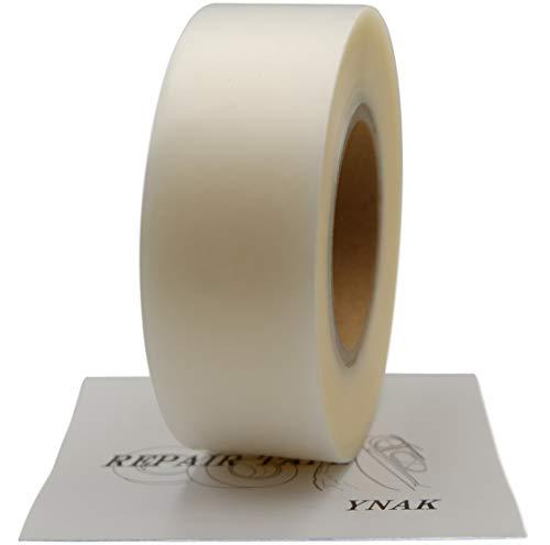 YNAK テント ザック タープ シート レインウェアー 補修 メンテナンス 用 強力 シームテープ アイロン式 説明書付き (幅35mm×長さ50m)