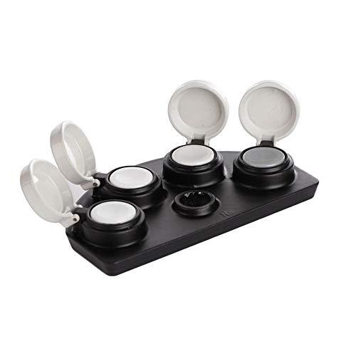 Ferramenta de mergulho de óleo para relógio, Jadpes 30180-A para relógio com tampa de 4 pratos, ferramenta de mergulho de óleo, acessório de reparo de óleo