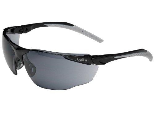 bollé Schutzbrille -Universal-, Smoke, Anti-Kratz & Anti-beschlag, mit b-Flex-Nasensteg (UNIPSF)