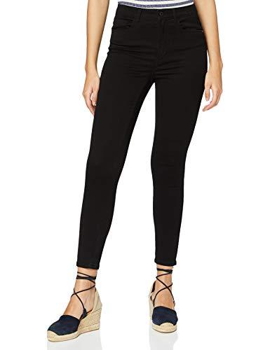 ONLY Damen ONLROYAL HIGH SK 600 Petit Jeans, Black Denim, L