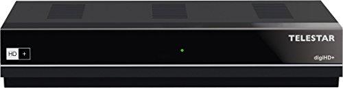 Telestar digiHD+ HDTV Satelliten-Receiver mit 6 Monate HD+ (DVB-S/DVB-S2, FullHD, HDMI) schwarz