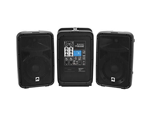 OMNITRONIC COMBO-160BT aktivt -PA-system/bärbar 160 W ljudanläggning med Bluetooth