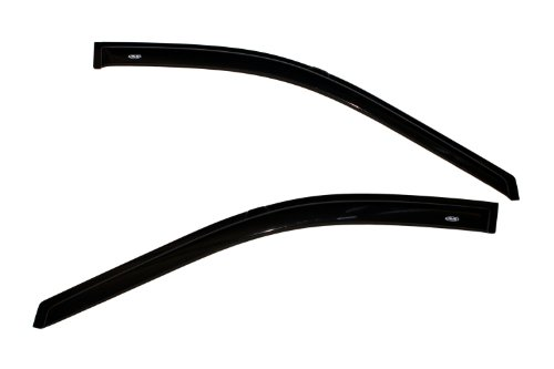 Auto Ventshade 92305 Original Ventvisor Side Window Deflector Dark Smoke, 2-Piece Set for 1996-2007 Dodge Caravan & Chrysler Town & Country, 2001-2003 Plymouth Voyager