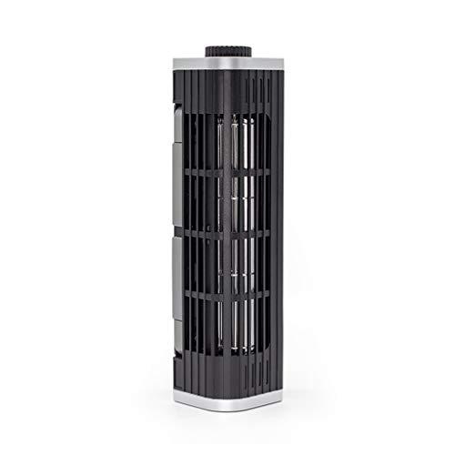 jfhrfged Laptop-Kühler Verstellbarer Kühlständer USB-Laptop-Querstrom-Lüfterhalter (Schwarz)