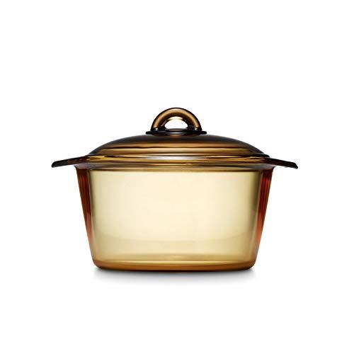 Luminarc Vitro Blooming Heat-resistant Glass Cooking Pot (3L)