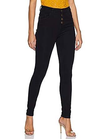 Miss Olive Women's Skinny Fit Slim Jeans