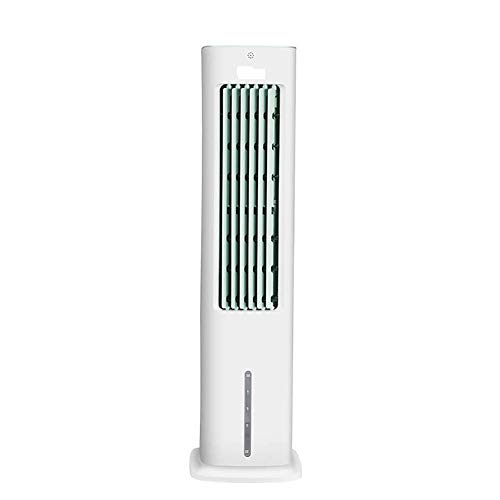 LHSUNTA Air Cooler Portable,55W Household Stand Up Air Conditioner Fan,Quiet Mobile Air Cooler,For Home Office Use White 23 * 30 * 85cm