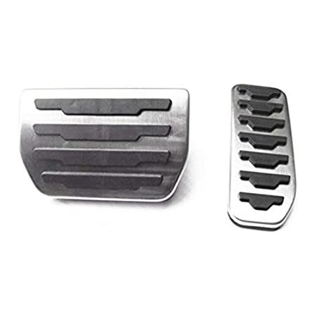Fußpedal Pedalkappen Auto Pedale Abdeckung Aluminiumlegierung Gummi Für Evoque Discovery Pedal Auto