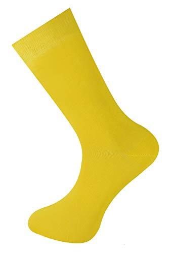 Mysocks Einfach Knöchelsocken Gelb