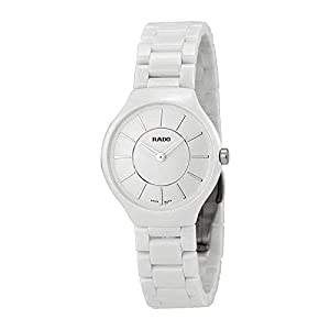 0d3724c8dac 1 Rado True Thinline White Dial White Ceramic Watch R27958112 Order ...