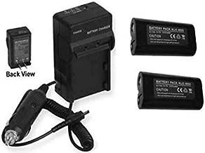 TWO KLIC8000 Batteries + Charger for Kodak Z8612 IS ZD8612, Kodak Z712IS Z812IS Z1012IS