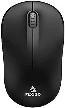 NexiGo Portable Mobile Optical Cordless Mouse with USB Receiver