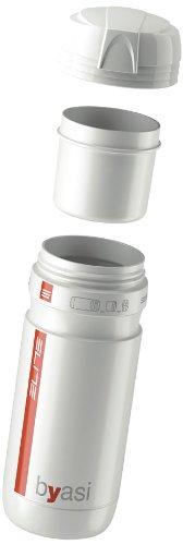 Elite Byasi Porta - Utensilios - Botella de agua, color blanco