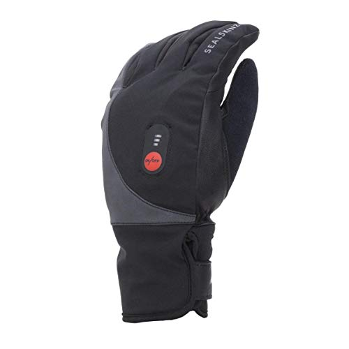 Sealskin Cycle Split Finger Gants Unisexe, Noir, XL