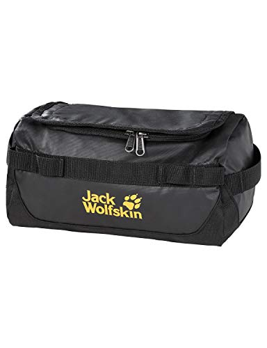 Jack Wolfskin Unisex – Erwachsene Expedition WASH Bag Kulturbeutel, Black, ONE Size