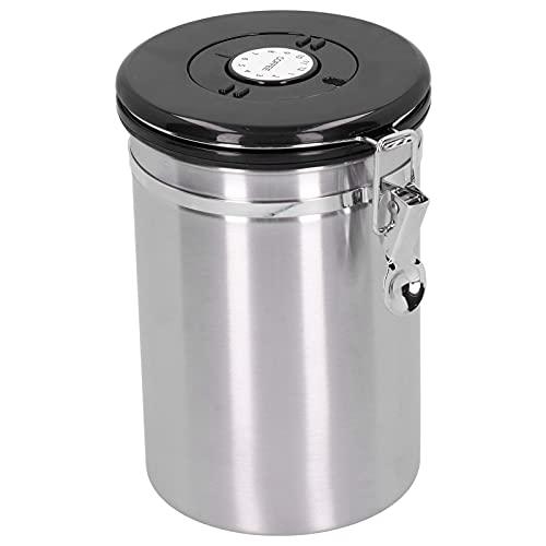 Alvinlite Juego de recipientes herméticos de Acero Inoxidable - Recipiente de Almacenamiento de Alimentos para encimera de Cocina - Recipiente de Almacenamiento de Tarro de Sellado de 1800 ml
