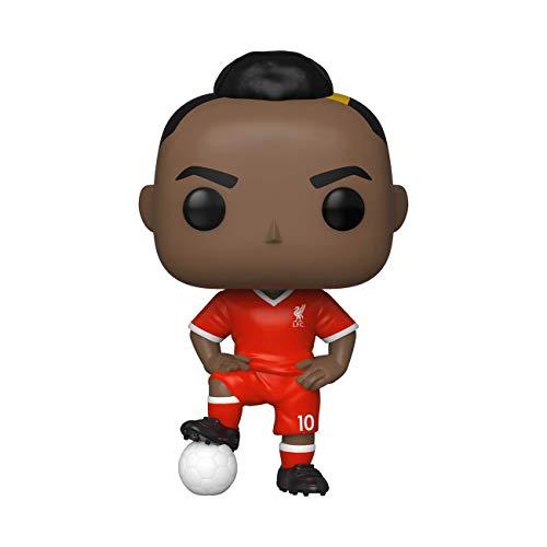 Funko- Pop Football: Liverpool-Sadio Mané Figurine de Collection, 47257, Multicolore
