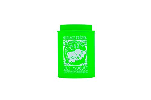 Mariage Frères Paris Grüner Tee Lily Muguet mit Maiglöckchen Aroma in Dose 100 g