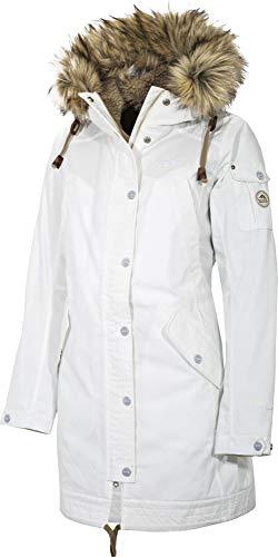 Tenson W Sannah Jacket Weiß, Damen Isolationsjacke, Größe 44 - Farbe White