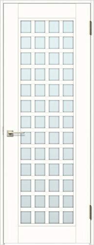 ラシッサS 標準ドア ASTH-LGS 錠付き 06520 W:754mm × H:2,023mm 吊元:右吊元 本体色/枠色:プレシャスホワイト(YY) 枠種類:ノンケーシング115(壁厚:76-100) 沓摺:なし 把手:サークルB 鍵種類:丸型簡易錠