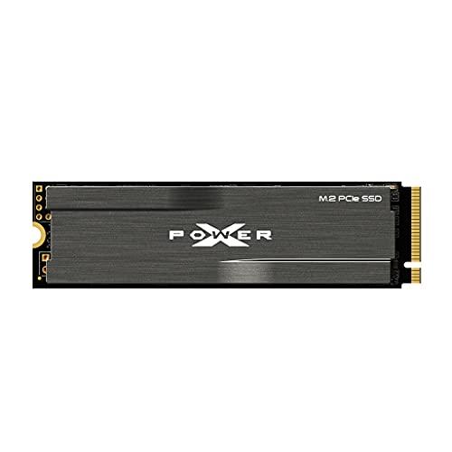シリコンパワー SSD 1TB 3D TLC NAND M.2 2280 PCIe3.0×4 NVMe1.3 最大読込3400MB/s XD80シリーズ 5年保証 SP001TBP34XD8005
