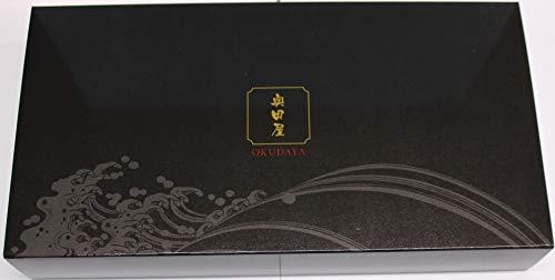 奥田屋 富山湾の神秘&宝石ギフトセット【B】(ギフトケース入り) (ホタルイカキムチ・白えび お刺身<むき身>) -クール冷凍-