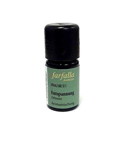 Farfalla Aromamischung Entspannung Orangenblüte 5 ml ätherische Ölmischung