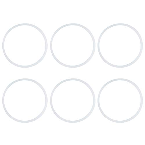 6 Stücke Mixer Dichtung Silikon Getriebe Dichtung Ringe Blender Zubehör Teil Ersatz Dichtung für Magic Bullet Mixer 250 Watt